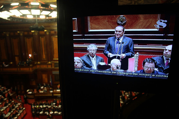 Italian Houses of Parliament Discuss Vote Of Confidence []