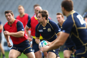 Simon Danielli Scotland IRB RWC 2011 Captain's Run