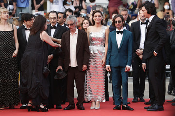 """Simon Helberg Angele """"Annette"""" & Opening Ceremony Red Carpet - The 74th Annual Cannes Film Festival"""