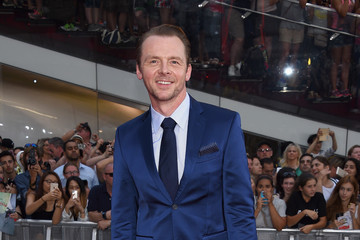Simon Pegg 'Mission: Impossible - Rogue Nation' NYC Premiere
