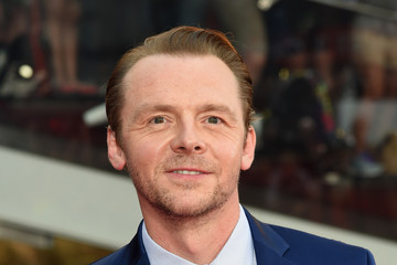 Simon Pegg 'Mission Impossible - Rogue Nation' New York Premiere - Inside Arrivals