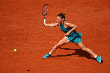 Simona Halep 2018 French Open - Day Five