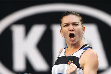 Simona Halep European Best Pictures Of The Day - January 19, 2019