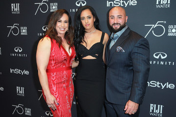 Simone Garcia Johnson Hollywood Foreign Press Association and InStyle Celebrate the 75th Anniversary of the Golden Globe Awards - Arrivals