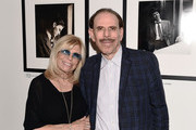 "(EXCLUSIVE COVERAGE) (L-R) Nancy Sinatra and artist Peter Max attend the ""Sinatra"" book launch event at Saks Fifth Avenue on July 23, 2015 in New York City."