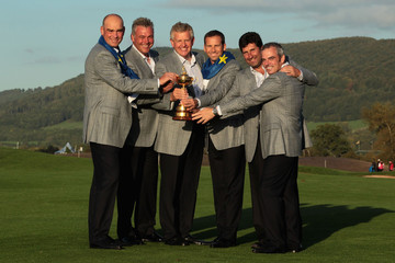 Colin Montgomerie Thomas Bjorn Singles Matches-2010 Ryder Cup