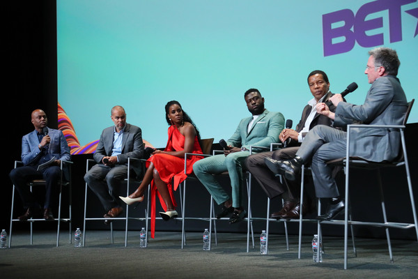 "BET's ""American Soul"" Emmy FYC Screening Event [red,event,youth,convention,design,conversation,table,academic conference,performance,architecture,audience,kevin frazier,tony cornelius,jonathan prince,sinqua walls,kelly rowland,jesse collins,north hollywood,bet,american soul emmy fyc screening event]"