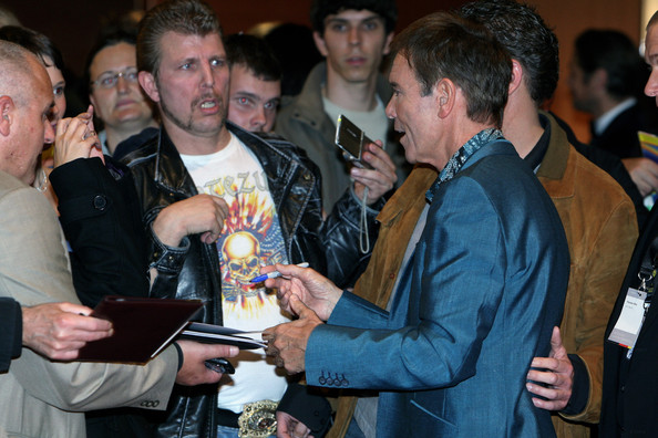 Sir Cliff Richard Sir Cliff Richard signs autographs arriving for the Nachhaltigkeitsgala at Maritim Hotel on November 4, 2011 in Duesseldorf, Germany.