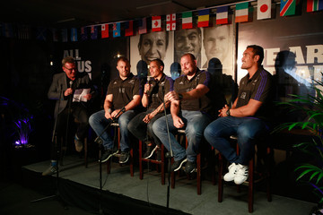 Sir John Kirwan New Zealand All Blacks Meet Fans in London