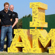 Sir Keith Mills Prince Harry Attends Invictus Games Jaguar Land Rover Driving Challenge