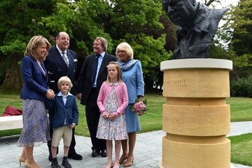 Sir Nicholas Soames The Duchess of Cornwall Commemorates the 50th Anniversary of the Death of Sir Winston Churchill