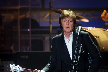 Paul McCartney Sir Performs At Hammersmith Apollo