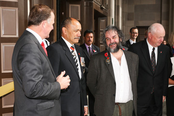 Sir Peter Jackson Official Opening Of The Pukeahu National War Memorial Park