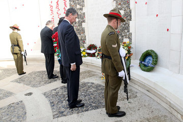 Sir Timothy Laurence The Duke of Cambridge Attends New Zealand National Commemoration for the Battle of Passchendaele