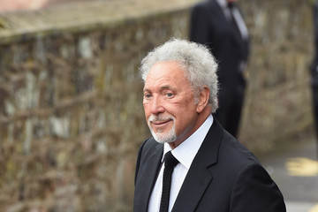 Sir Tom Jones The Funeral of Cilla Black