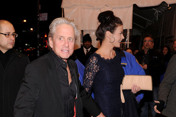 Catherine Zeta Jones Michael Douglas SiriusXM Celebrates 10 Years Of Satellite Radio With A Concert By Bruce Springsteen & The E Street Band - Arrivals