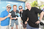 (L-R) .SiriusXM Host Danny Valentino, SiriusXM's Ben Harvey, Head of EDM Programming of SiriusXM Geronimo and Liquid Todd at SiriusXM Celebrates 10th Anniversary Of The SiriusXM Music Lounge At 1 Hotel South Beach Leading Up To Ultra Music Festival; SiriusXM Music Lounge Airs Live On SiriusXM's UMF Radio  - Day 1 on March 16, 2016 in Miami, Florida.