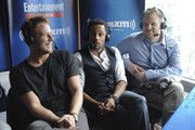 Actors Jake McDorman and Hill Harper and director Marc Webb attend SiriusXM's Entertainment Weekly Radio Channel Broadcasts From Comic-Con 2015 at Hard Rock Hotel San Diego on July 9, 2015 in San Diego, California.