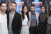 Actors Iddo Goldberg, Shane West, Janet Montgomery, Seth Gabel, Elise Eberle and Ashley Madekwe attend SiriusXM's Entertainment Weekly Radio Channel Broadcasts From Comic-Con 2015 at Hard Rock Hotel San Diego on July 11, 2015 in San Diego, California.