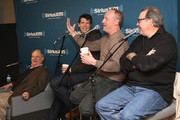 """Frank Rich, Timothy Simons, Matt Walsh and Kevin Dunn attend SiriusXM's Julie Mason Hosts """"Inside Veep,"""" A Special Event With Veep's Frank Rich, Matt Walsh, Timothy Simons, And Kevin Dunn at SiriusXM Studios on April 8, 2015 in New York City."""