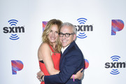 """Julia Roberts and Jess Cagle attend SiriusXM's Launch of """"The Jess Cagle Show"""" From The SiriusXM Hollywood Studios on September 16, 2019 in Los Angeles, California."""