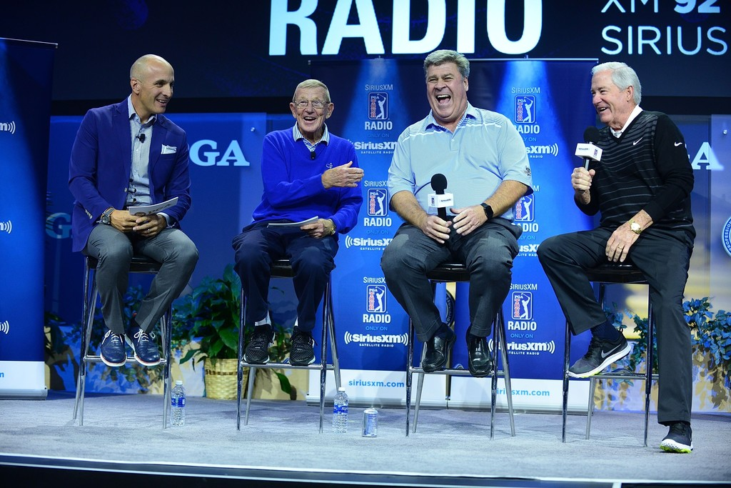 hal sutton photos photos - siriusxm pga tour radio at 2018 pga merchandise show - day 2