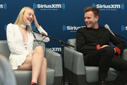 Actress Dakota Fanning and actor Ewan McGregor take part in SiriusXM's Town Hall with the cast of 'American Pastoral' hosted by EW's Sara Vilkomerson at the SiriusXM Studio on October 19, 2016 in New York City.