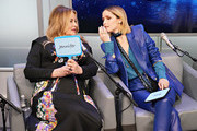 Jennifer Coolidge and Rose Byrne speak during SiriusXM's Town Hall with the cast of 'Like A Boss' hosted by Hoda Kotb at the SiriusXM Studio on January 8, 2020 in New York City.