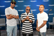 Pimpin, Jermaine Dupri and Bow Wow take part in SiriusXM's Town Hall with Jermaine Dupri at SiriusXM Studios on June 15, 2018 in New York City.