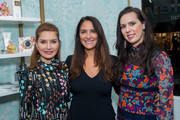Jean Shafiroff, Lynn Scotti and Phebe Wahl attend the Sisley Fall Beauty Event at Sisley Boutique Soho on October 30, 2018 in New York City.
