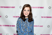 """Actress Georgie Henley attends """"The Sisterhood Of Night"""" NY Premiere and After Party on April 2, 2015 in New York City."""