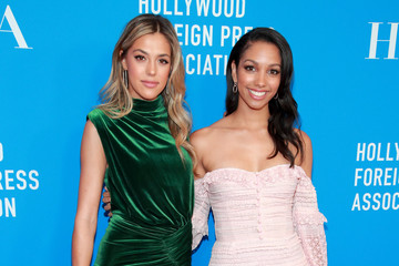 Sistine Stallone Corinne Foxx Hollywood Foreign Press Association's Annual Grants Banquet - Arrivals