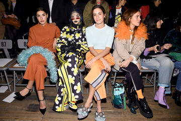 Sita Abellan Marc Jacobs Fall 2018 Show - Front Row