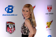 Model and television personality Holly Madison arrives at the sixth annual Fighters Only World Mixed Martial Arts Awards at The Palazzo Las Vegas on February 7, 2014 in Las Vegas, Nevada.