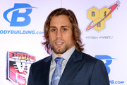 Mixed martial artist Urijah Faber arrives at the sixth annual Fighters Only World Mixed Martial Arts Awards at The Palazzo Las Vegas on February 7, 2014 in Las Vegas, Nevada.