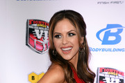 UFC Octagon Girl and model Brittney Palmer arrives at the sixth annual Fighters Only World Mixed Martial Arts Awards at The Palazzo Las Vegas on February 7, 2014 in Las Vegas, Nevada.