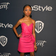 Skai Jackson The 2020 InStyle And Warner Bros. 77th Annual Golden Globe Awards Post-Party - Red Carpet