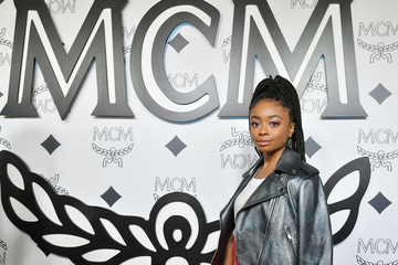 Skai Jackson MCM Global Flagship Store Grand Opening On Rodeo Drive - Arrivals
