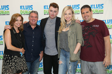 Skeery Jones Sam Smith Visits 'The Elvis Duran Z100 Morning Show'