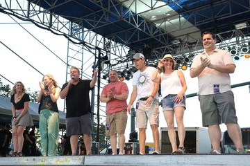 Skerry Jones Elvis and The Morning Show at SunFest