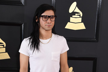 Skrillex The 59th GRAMMY Awards - Arrivals