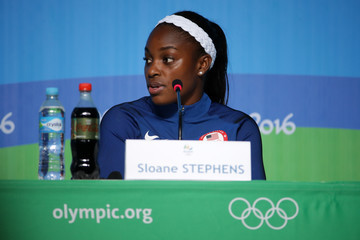 Sloane Stephens Olympics - Previews - Day -2