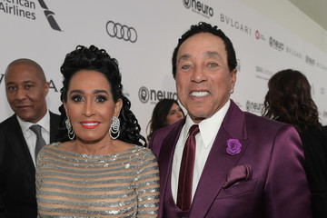 Smokey Robinson 25th Annual Elton John AIDS Foundation's Oscar Viewing Party With Cocktails by Clase Azul Tequila and Chopin Vodka
