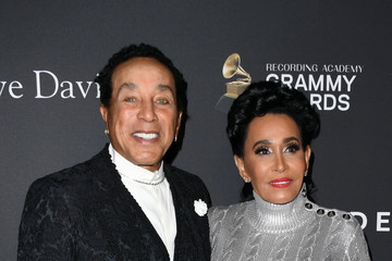 Smokey Robinson The Recording Academy And Clive Davis' 2019 Pre-GRAMMY Gala - Arrivals