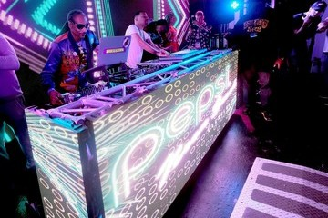 Snoop Dogg DJ Snoopadelic Rookie Of The Year Party During Pepsi Zero Sugar Presents Neon Beach At Clevelander