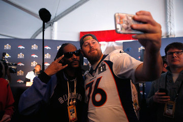 Snoop Dogg Denver Broncos Media Availability