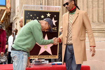 Snoop Dogg Pharrell Williams Snoop Dogg Honored With Star On The Hollywood Walk Of Fame