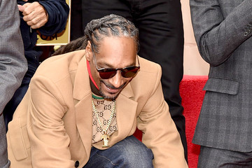 Snoop Dogg Snoop Dogg Honored With Star On The Hollywood Walk Of Fame