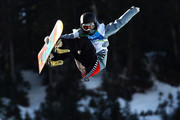 Kjersti Buaas of Norway competes in the women's snowboard halfpipe qualification on day seven of the Vancouver 2010 Winter Olympics at Cypress Snowboard & Ski-Cross Stadium on February 18, 2010 in Vancouver, Canada.