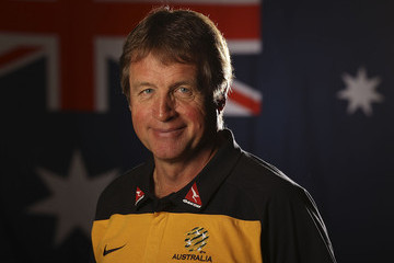 Ron Smith Socceroos Portrait Session